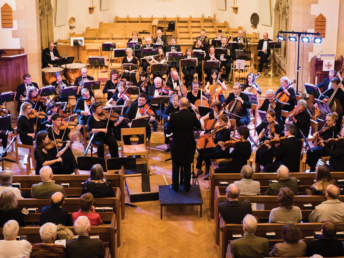 Rutland Sinfonia - celebrating its 40th anniversary season