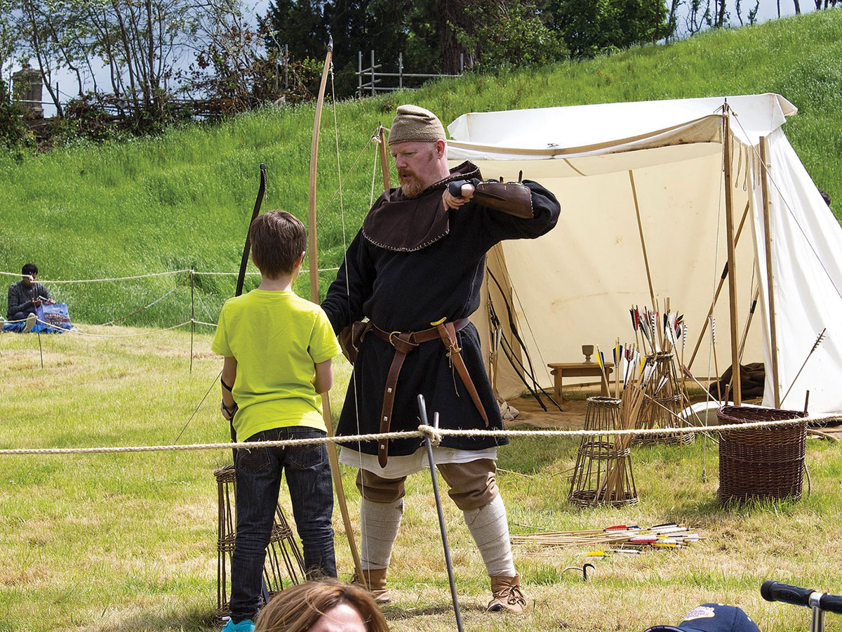 Red Fox Historical - Oakham Festival 2019 - Archery