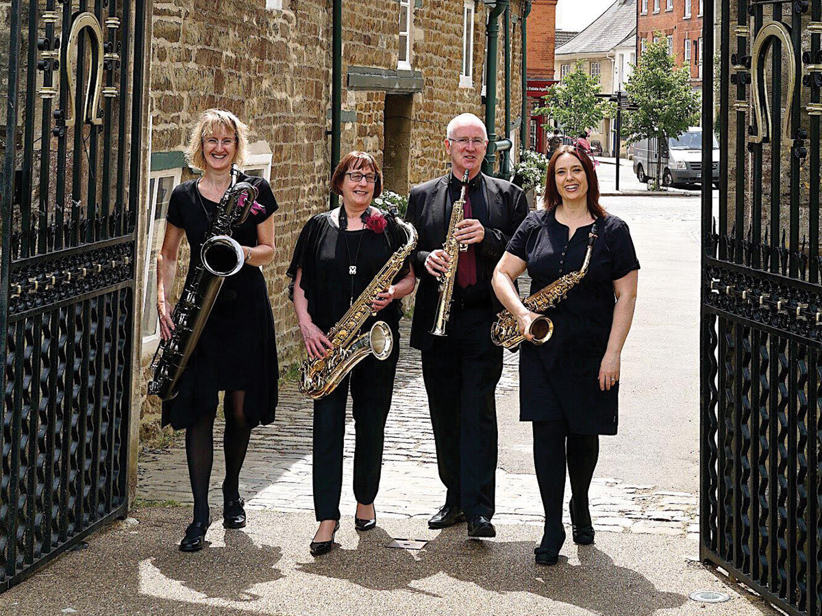 Take Four Saxophones - Oakham Festival 2019